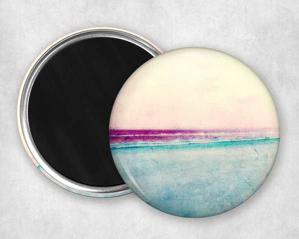 Runder Magnet Abstract Button 55mm